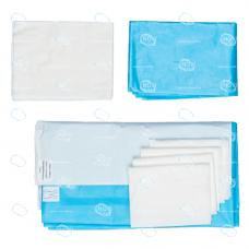 Комплект белья хирургического для кесарева сечения  тип-3, стерильный