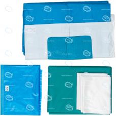 Комплект белья хирургического для лапараскопических операций, тип-1 стерильный