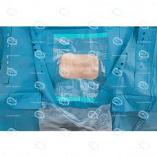 Простыня хирургическая для нефроскопии 180х300см, стерильная