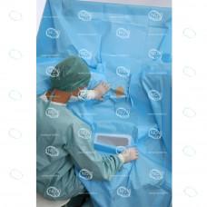 Простыня хирургическая для Т.У.Р. 200х250см, тип-1 стерильная