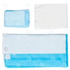 Комплект белья хирургического для кесарева сечения тип-1, стерильный