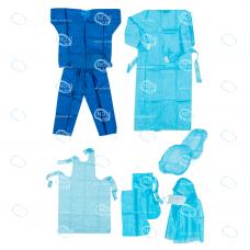 Комплект одежды хирургической (для повышенной защиты) стерильный