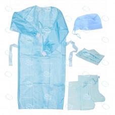 Комплект одежды хирургической универсальный р.52-54, стерильный