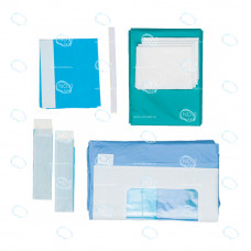 Комплект  белья хирургического для лапароскопии абдоминоперинеальной стерильный