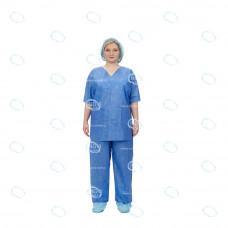 "Набор одежды медицинской ""Комфорт"" пл.42г/м2 (рубашка, брюки) р.52-54, СММС пл.42г/м2"