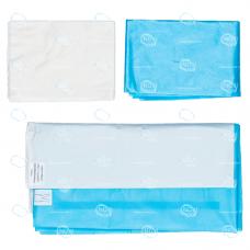 Комплект белья хирургического для кесарева сечения тип-2, стерильный