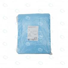 Простыня хирургическая влагонепроницаемая, ламинированный спанбонд, пл.42г/м2, 60х50см, стерильная